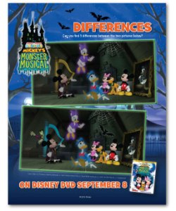 Mickeys Monster Musical Differences