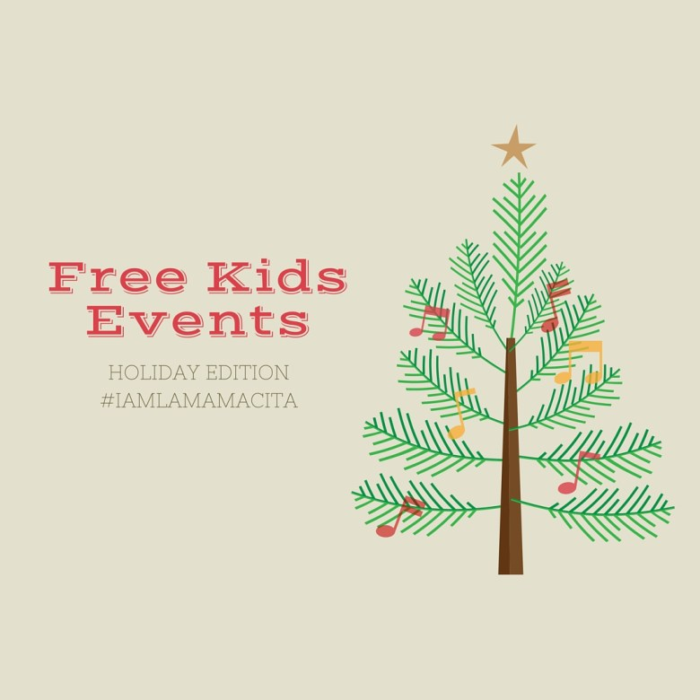 Culver City Christmas Tree: Free Kids Events