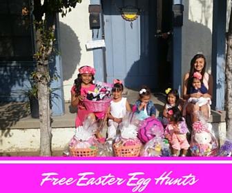 Free Easter Eggs Hunts in Los Angeles