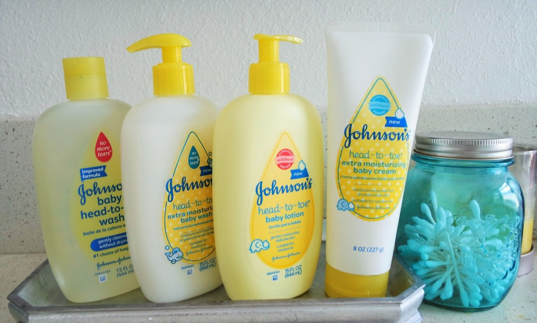 New Johnson's Head-To-Toe Baby Lotion Line
