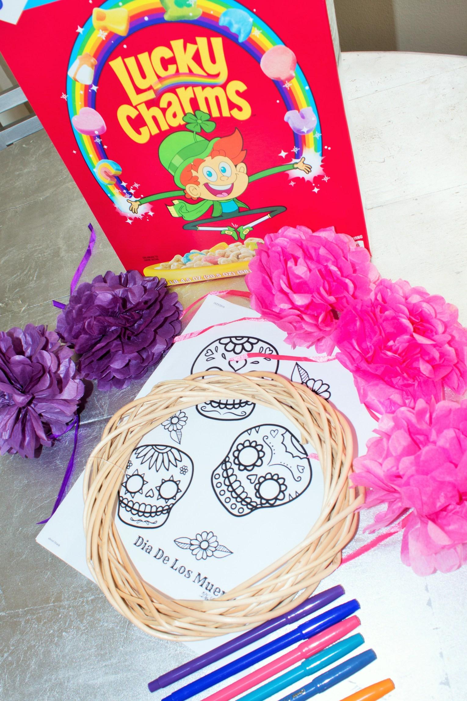 Dia De Los Muertos Kids Craft