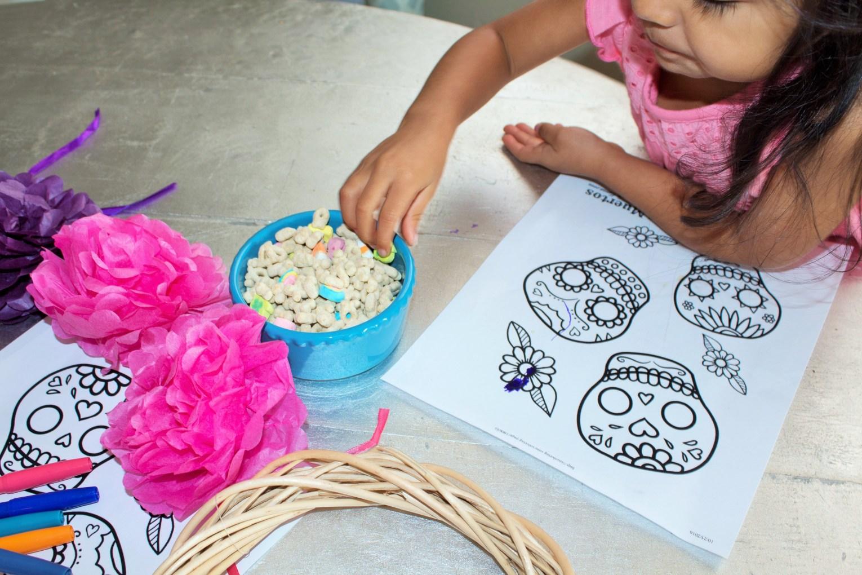 Easy Dia De Los Muertos Kids Activity