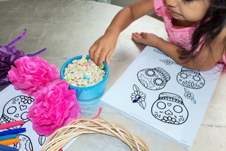 Easy Dia De Los Muertos Kids Activity