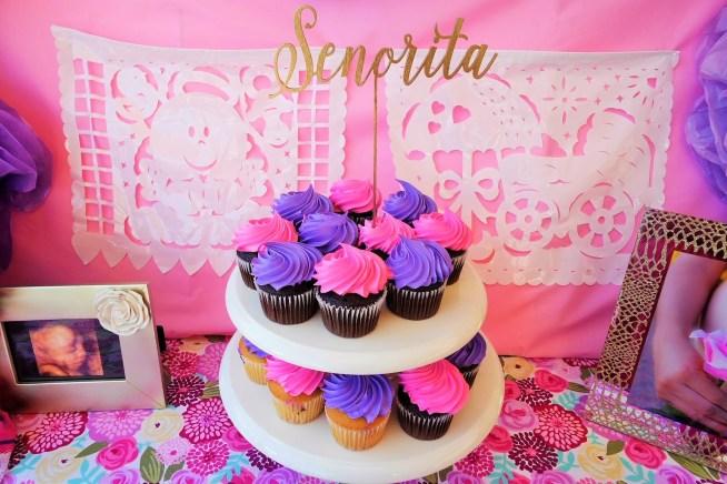 Fiesta Baby Shower Senorita Cake Topper