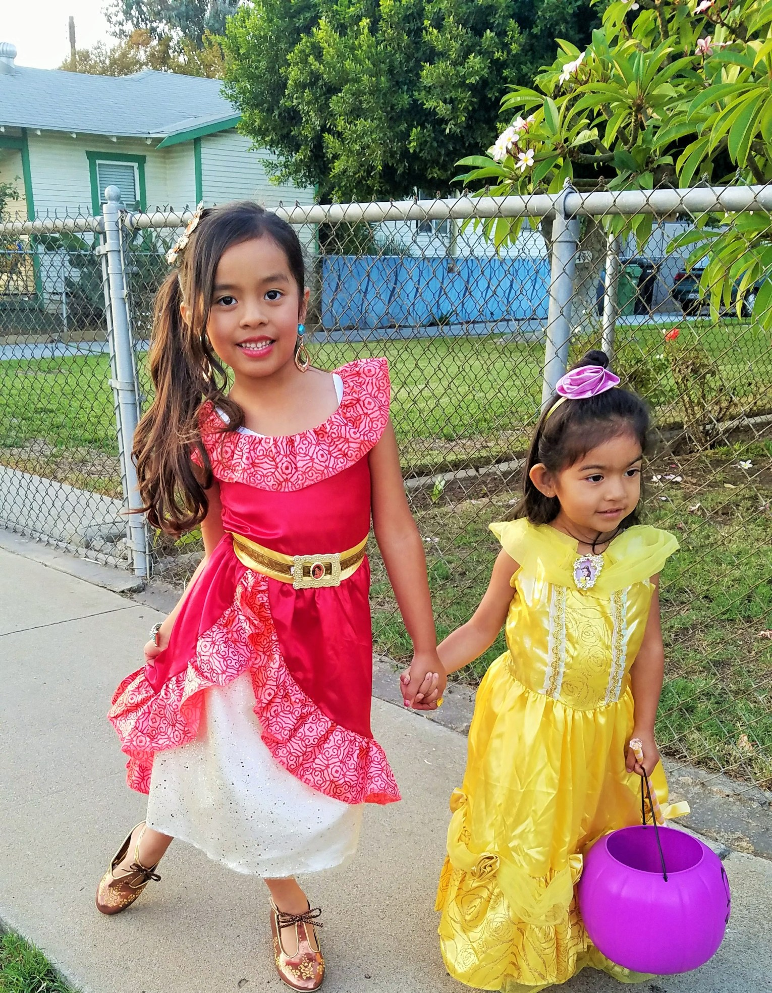 Princess Elena and Belle