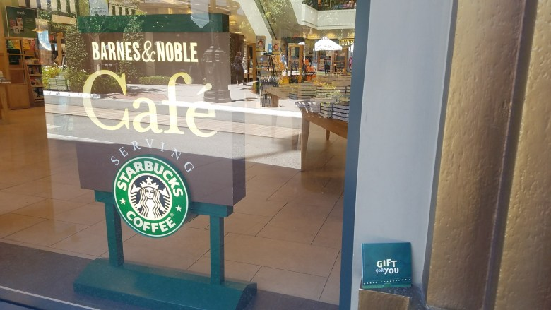 Barnes & Noble Starbucks Coffee Logo