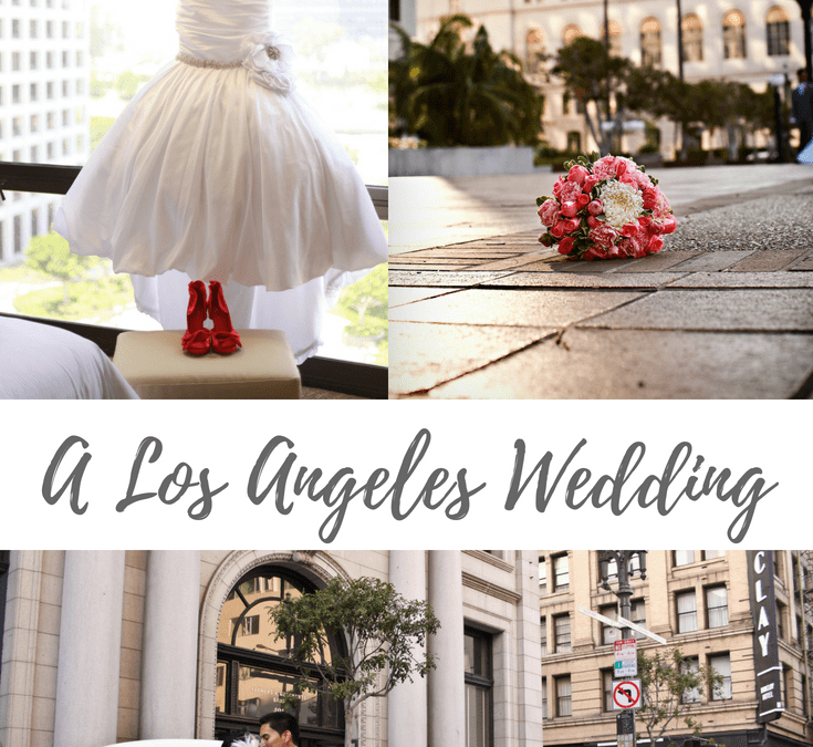 A Los Angeles Themed Wedding