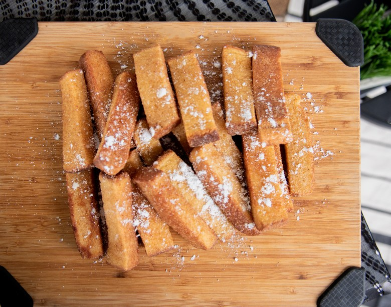 French Toast Sticks for brunch