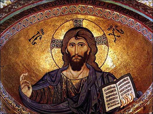 Peinture de Jésus sur dome
