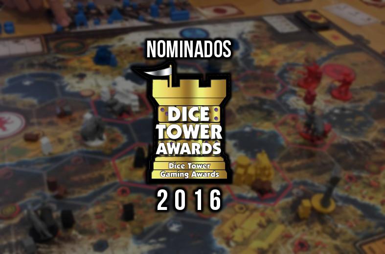 Dice Tower Awards 2016