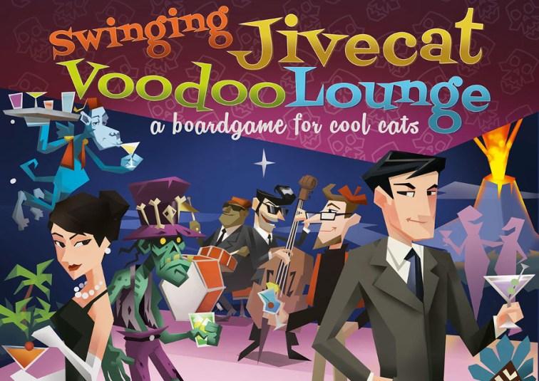Swinging Jivecat Vodoo Lounge, con arte de Sergi Marcet