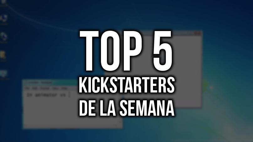 Top 5 Kickstarters de la Semana (21/11/2017)