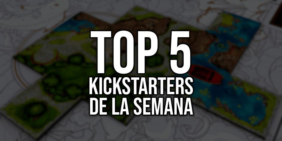 Top 5 Kickstarters de la Semana (18/06/2018)