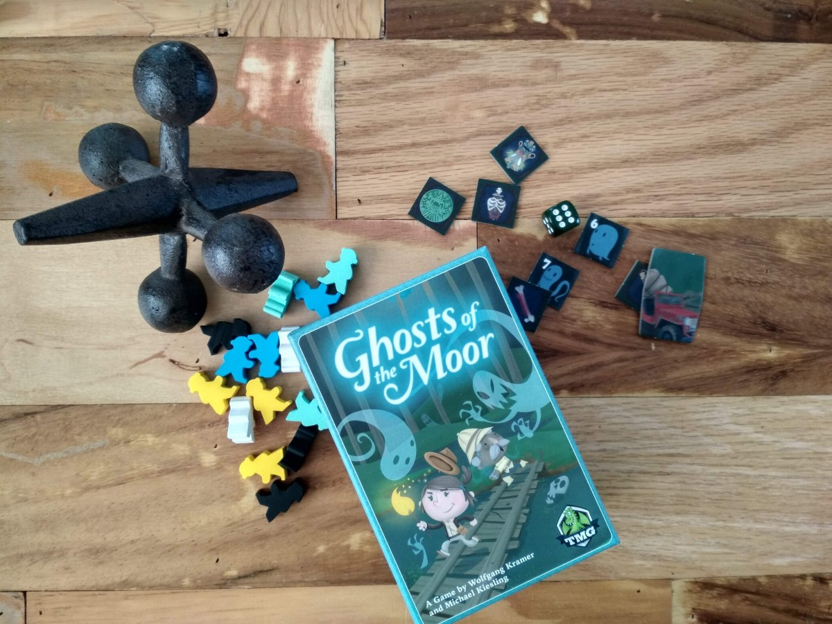 Ghosts of the Moor: tesoros, fantasmas y estrategia
