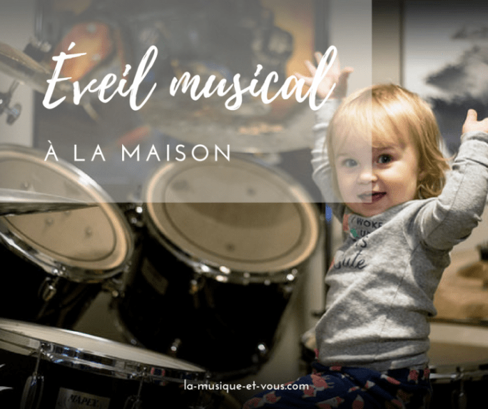 6 jeux d'éveil musical a la maison - credit photo Michael J