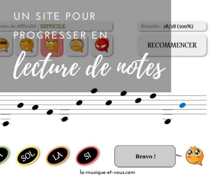 Site Lecture notes en ligne Pierre Quélard prof de piano