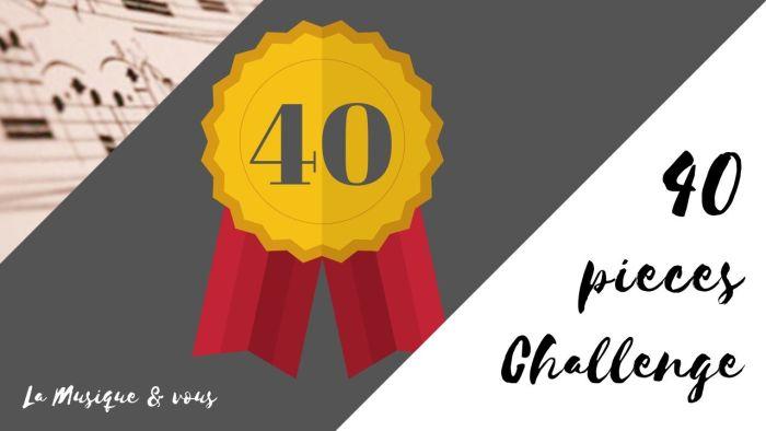 40 pieces challenge