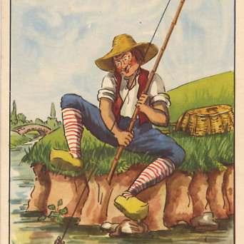 Le petit poisson et le pêcheur