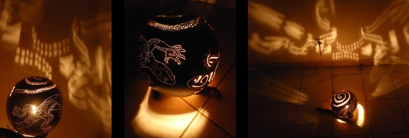 Lampe 'Joséphine'