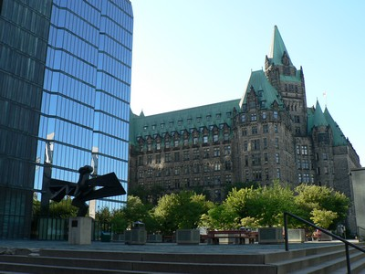 Ottawa, capitale institutionnelle (Parlement)