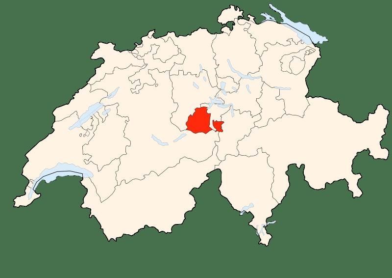 Carte d'Obwald