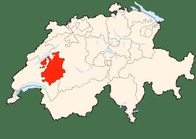 Carte de Fribourg