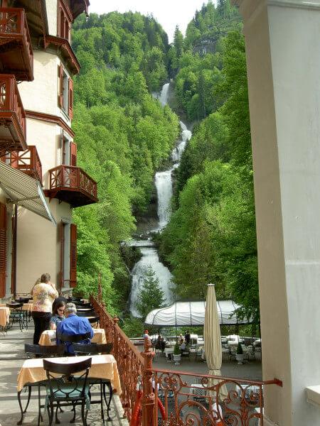 Les chutes de Giessbach