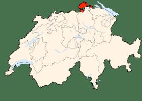 Carte de Schaffhouse