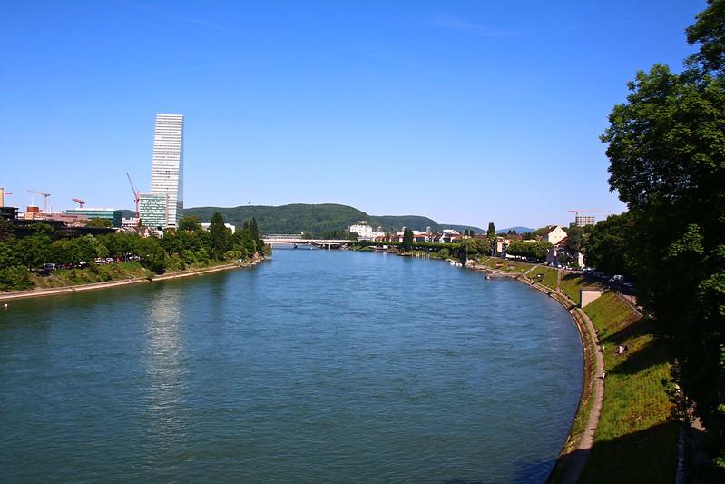 Le Rhin à Bâle