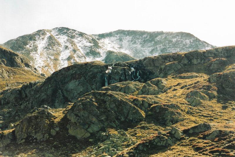Paysage du parc national suisse