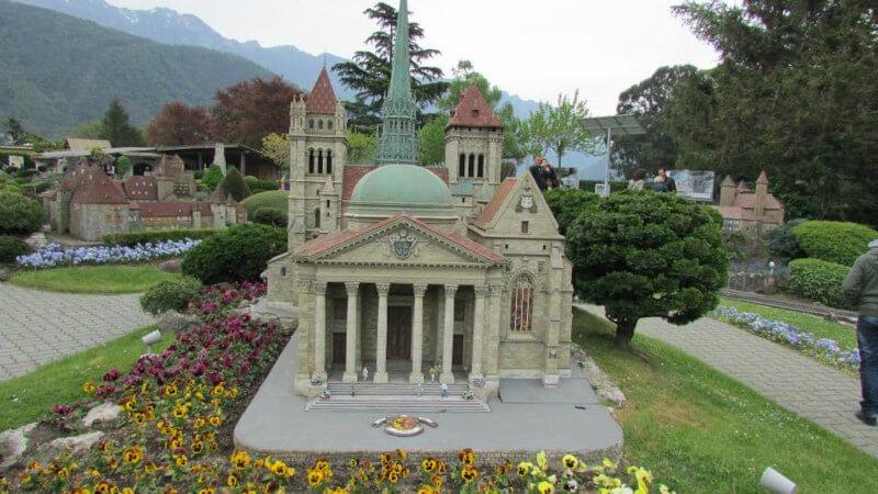 La cathédrale Saint Pierre en miniature