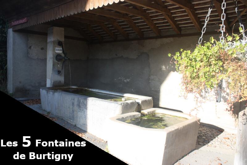 La fontaine d'Argent à Burtigny