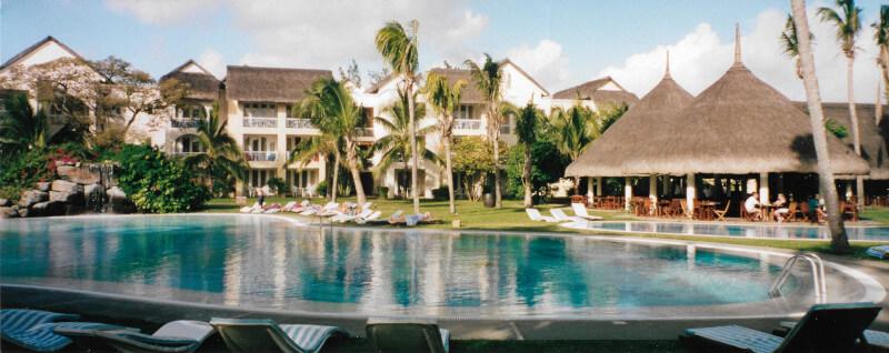L'hôtel le Canonnier à l'île Maurice