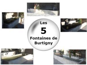 Les 5 fontaines de Burtigny
