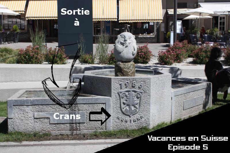 Vignette - Vacances en Suisse - Sortie à Crans-Montana