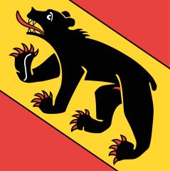 Le drapeau du canton de Berne