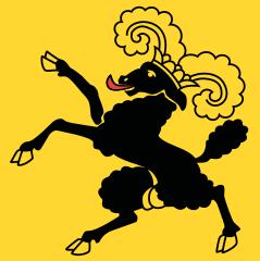 Le drapeau du canton de Schaffhouse