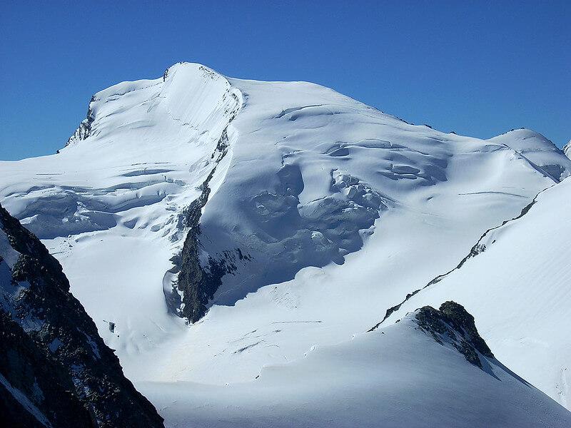 Le sommet de l'Allalinhorn