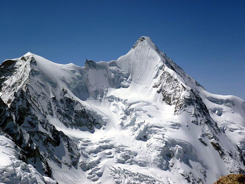 La face nord de l'Ober Gabelhorn