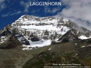 38ème sommet le plus haut de Suisse - Le Lagginhorn