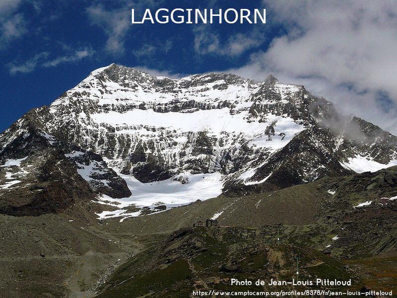 La face Ouest du Lagginhorn