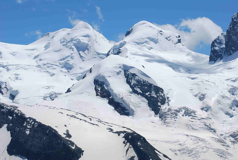 Les sommets jumeaux Castor et Pollux
