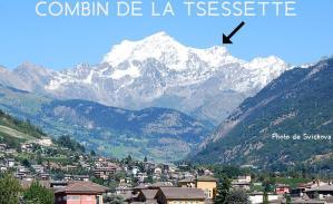 24ème sommet de plus de 4'000 mètres - Le Combin de la Tsessette