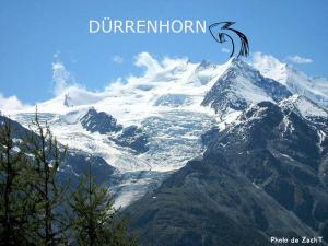 34ème sommet de plus de 4'000 mètres - Le Dürrenhorn