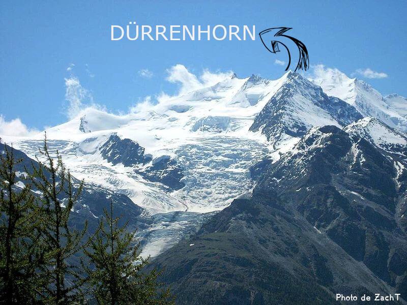 Paysage avec le Dürrenhorn