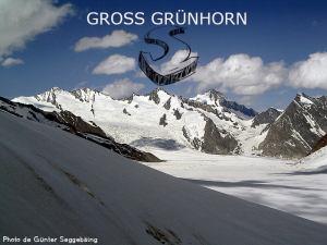 32ème sommet de plus de 4'000 mètres - Le Gross Grünhorn