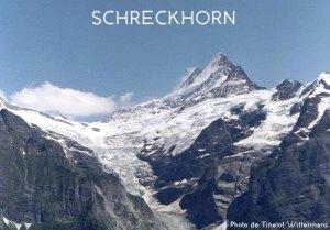 27ème sommet de plus de 4'000 mètres – Le Schreckhorn