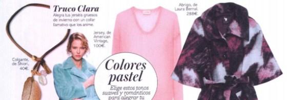 Clara + Laura Bernal + abrigo capa
