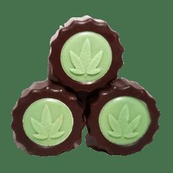 chocolat noir au cbd