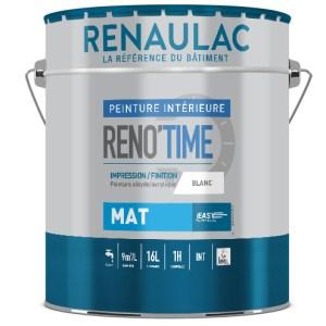 Peinture alkyde/acrylique mat – Impression et Finition. Destinée aux travaux d'intérieurs neufs ou de rénovation. Près de Lille